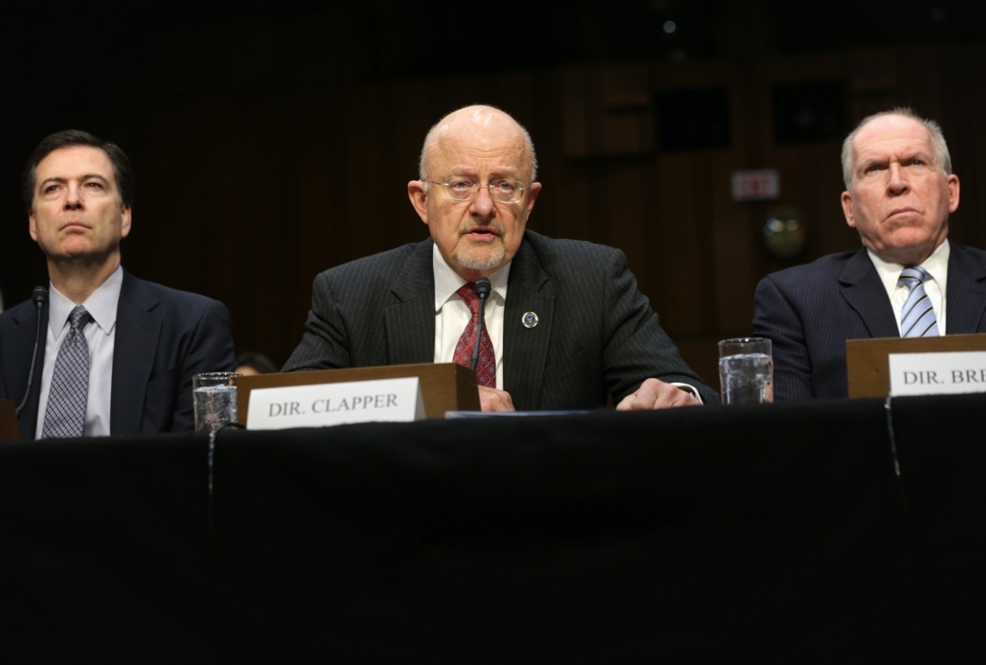 Intelligence Chiefs Testify At House Hearing On National Security Threats