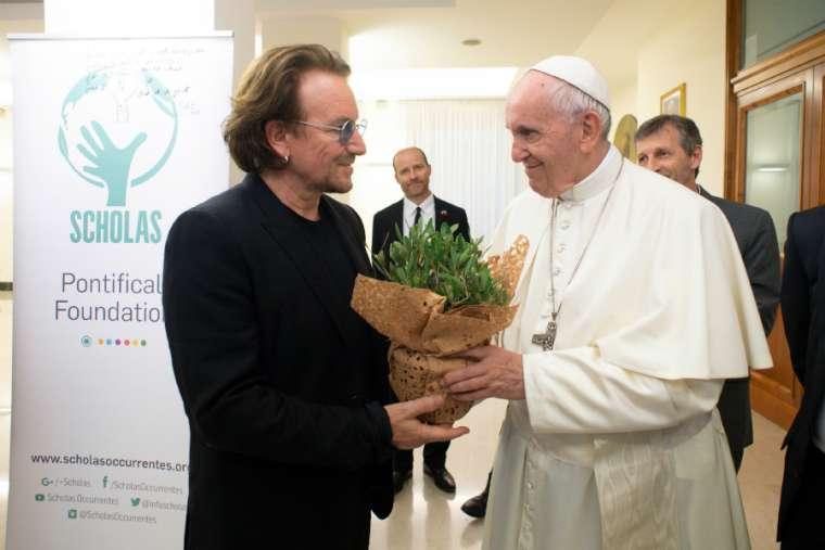 bono_pope_francis_vatican_sept_19_2018_vatican_media_cna